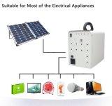 100Wによっては照明および電気機器のための太陽エネルギーの発電機が家へ帰る