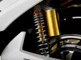 """A bicicleta elétrica viaja de automóvel motocicletas e a bicicleta elétricas dos """"trotinette""""s com motor elétrico"""