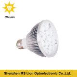 O diodo emissor de luz do bulbo da planta de E27 12W 15W 18W cresce a luz
