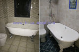 Bañera de la bañera libre de Sunboat/del arrabio del esmalte/tina/bañera grandes europeas