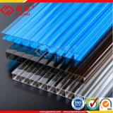 明確な耐熱性プラスチック対の壁のポリカーボネートの空シートの壁の装飾シート