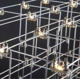Lámparas colgantes inoxidables del acero LED del estilo moderno (KA8265)