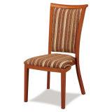 ホテルは椅子を食事するレストランの金属を木見る