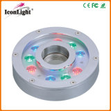 9PCS alto potere RGB LED Downlight Underwater Fountain Light (ICON-C008-9)