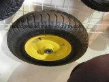 Grüner Schubkarre-Reifen ohne falschen Geruch