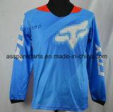 Riding Джерси мотоцикла тенниски голубой оптовой продажи фабрики off-Road (MAT72)