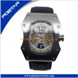 Automatische Horloges van de Kwaliteit van het Kwarts van het roestvrij staal de Achter