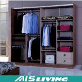 Wardrobe durável feito sob encomenda, mobília do armário Walk-in (AIS-W119)