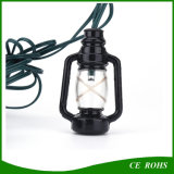 정원 Decorate를 위한 온난한 White 10 LED Barn Lantern Solar String Light