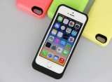 Caso esterno di carico di batteria del blocco alimentatore per il iPhone 5/5s/5c (HB-108)