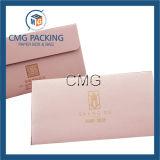Enveloppe de papier rose pour le bijou d'emballage (CMG-ENV-013)