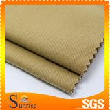 Tessuto 100% del raso del cotone spazzolato (SRSC 080)