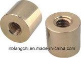 Noix rondes en bronze de cuivre de usinage trapézoïdales de pièces