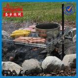 Draagbare BBQ van het roestvrij staal Goedgekeurde Grill met Ce/FDA (SP-CGS09)