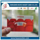 Fuente sin contacto de la tarjeta del IC de la viruta elegante del plástico RFID