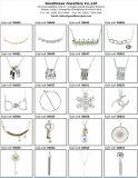 方法デザインロジウムめっき(S3381)のための銀セットが付いている宝石類セット
