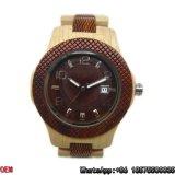 Relógio de madeira Top-Quality Hl28 de quartzo do relógio