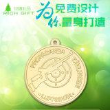 Personalizzata Sport / funzionare / Coin / Pin / medaglione / oro / ricordo / in lega di zinco / Argento / smalto / Marathon / distintivo medaglia con nastro