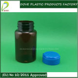 Easy Open Cap를 가진 120ml Pet Amber Capsule Bottle