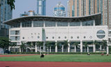 Gumnasium 건물을%s 전 설계된 금속 루핑 Truss