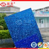 Blad van het Polycarbonaat van Lexan het UV Met een laag bedekte Prismatische In reliëf gemaakte (ym-PC-078)