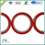 De aantrekkelijke Band 50mic van de Verpakking BOPP van de Rode Kleur Zelfklevende