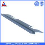 Prata feita sob encomenda perfil anodizado da liga de alumínio