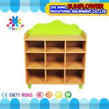 Compartiment en bois de jouet, crémaillère de jouets (XYH12139-8)