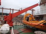 Rettungsboot des IACS-Marineaußenbordtriebwerk-FRP/Rettungsboot-Davit