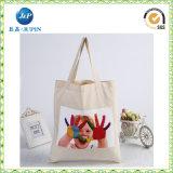 Bolsa de tela de algodón personalizado de moda de Eco bolsa de tela plana (JP-CB011)