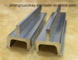 Profil en aluminium pour la poignée de porte de Cabinet de cuisine de porte de cabinet