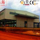 Almacén portable de acero prefabricado anticorrosión del diseño de la disposición del almacén