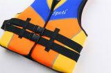Неопрен / нейлон Плавание спасательный жилет, жилет, спасательный жилет для водных видов спорта, жилет безопасности, купальники, водные виды спорта (WM-0207)
