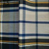 Il filato tessuto 100% del popeline di cotone ha tinto il tessuto per le camice/vestito Rlsc40-33