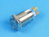 Imperméabiliser le commutateur micro lumineux de bouton poussoir, le commutateur électrique (LAS1-19F-11EP)