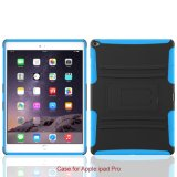 Nuevo Arrive Phone Accessories 2 en 1 PC+TPU Caso con Stand para el iPad PRO Caso