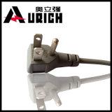 Kabel Belüftung-1.5sqmm 110 Volt-elektrisches Stecker-und Kontaktbuchse-amerikanisches Standardstecker-Energien-Kabel