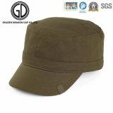 Casquillo militar lavado alta calidad de 2016 del dril de algodón sombreros del ejército con la correa de cuero