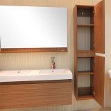 Kabinet van de Badkamers van het Meubilair van de Shampoo van het Haar van Noni van Bsy het Zwarte Magische Stevige Houten
