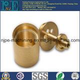 높은 정밀도 주문 고급장교 CNC 기계로 가공 관 이음쇠