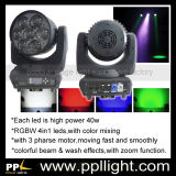 luz principal móvil de la etapa ligera del zoom de 7*40W LED