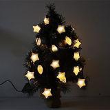 고품질을%s 가진 다른 색깔 별 모양 LED 크리스마스 끈 빛