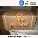 28-30GSM het Gele en Witte Dundrukpapier van de room voor Druk