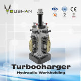 Turbocharger Workholding hidráulico do CNC