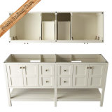連邦機関356A Modern Floor -取付けられたSolid Wood Bathroom Vanities