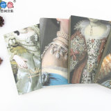 L'Europe Style Wholesale Custom Mini Hardcover Notebook avec Copper (XLJ64128-X01)