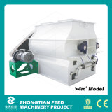 Doppeltes Shaft Feed Mixer Machine mit Tür-Opening Discharging Mechanism