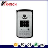 アパート無線IPのビデオドアの電話相互通信方式Knzd-42 Handfreeのドアの電話