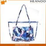 着色された方法流行の浜のハンドバッグのSealableプラスチックショルダー・バッグを取り除きなさい