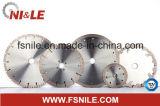 """300 mm dividido en segmentos rueda de corte vio la lámina para Engineered cuarzo (12 """")"""